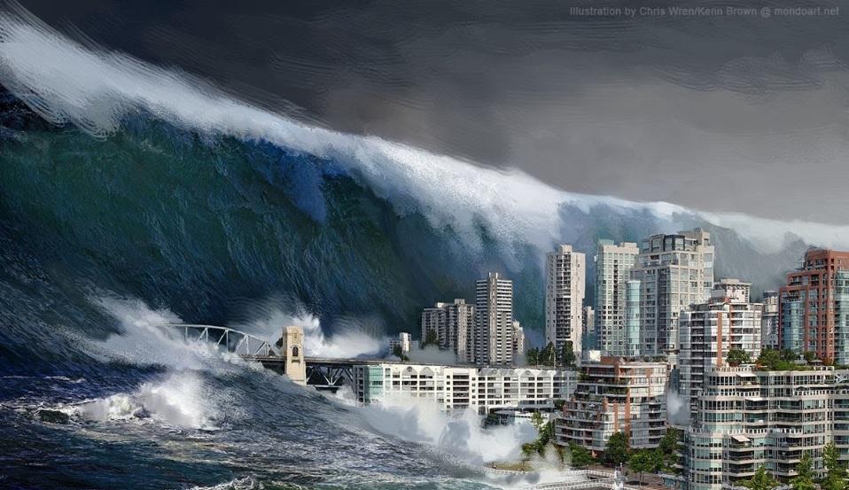同じ津波の夢を三度見た話をする...