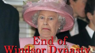 Destruction of the Windsor Dynasty, and the day the Goldsmith Dynasty is born